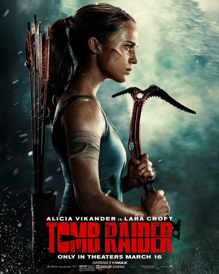 Alicia+Vikander+Gears+Up+as+Lara+Croft+in+New+Poster+For+TOMB+RAIDER