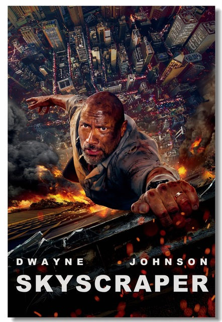 Custom-Canvas-Wall-Decor-Skyscraper-Movie-Poster-The-Rock-Dwayne-Johnson-Wall-Sticker-Mural-Bar-Office.jpg_640x640